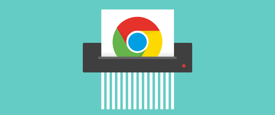 Clear chrome history banner